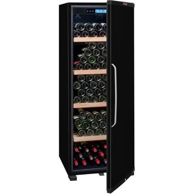 LA SOMMELIERE Verouderingskelder met volledige deur - A + - 194 flessen - Zwart
