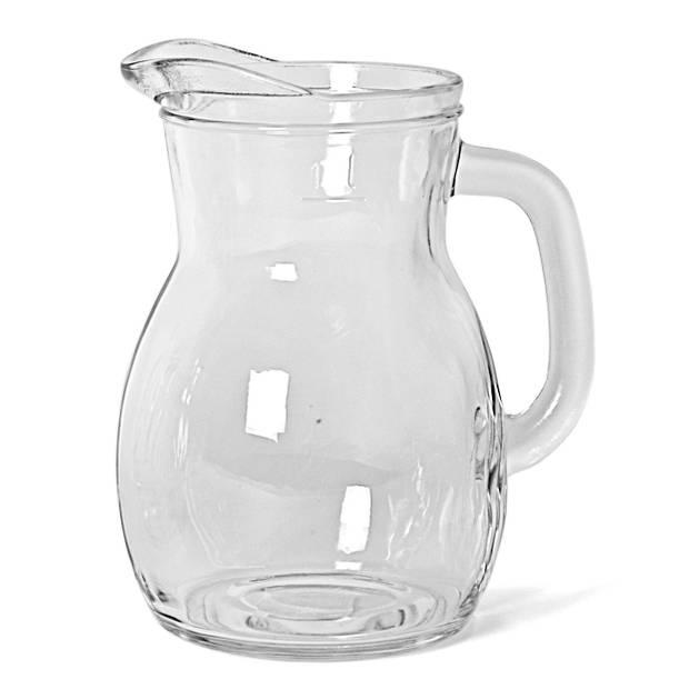 Gerimport karaf Bistrot 500 ml 14 x 12 cm glas transparant