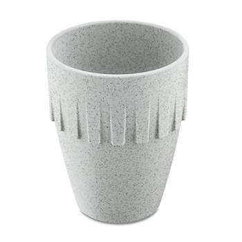 Korting Cappuccinobeker, 0.3 L, Organic Grijs Koziol Connect Coffee