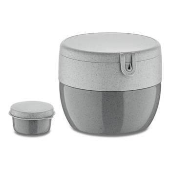 Korting Bento Box, Medium, Organic Cement Grijs Koziol Bentobox M