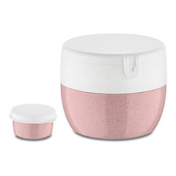 Korting Bento Box, Medium, Organic Roze Koziol Bentobox M