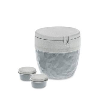 Korting Bento Box, Groot, Organic Cement Grijs Koziol Bentobox L