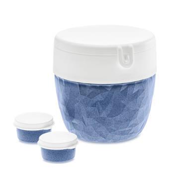 Korting Bento Box, Groot, Organic Blauw Koziol Bentobox L