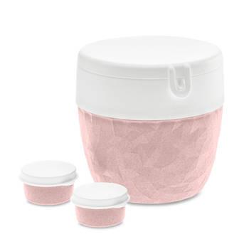 Korting Bento Box, Groot, Organic Roze Koziol Bentobox L