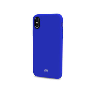 Korting Backcase Voor Iphone X xs, Blauw Siliconen Celly Feeling