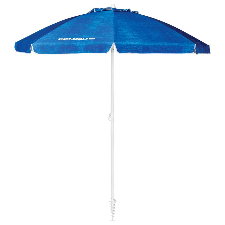 Sport-brella Strandparasol Core 182 Cm Gemeleerd Blauw