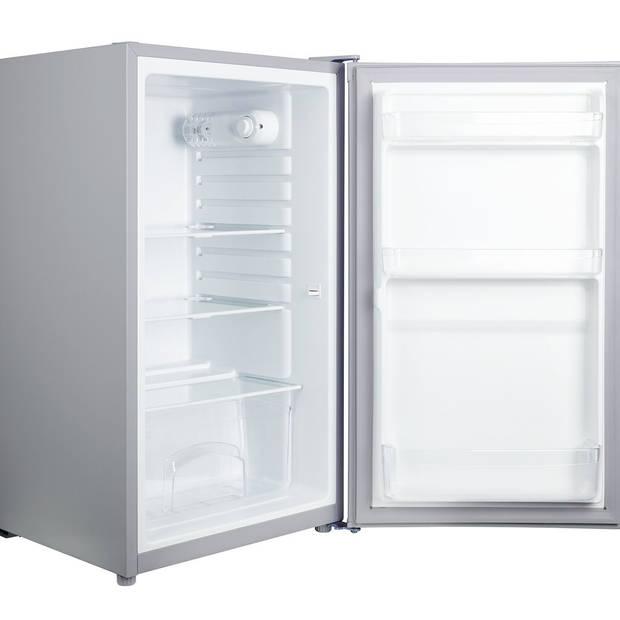Tomado TLT4801S - Tafelmodel koelkast - 91 liter - 48 cm breed - zilver