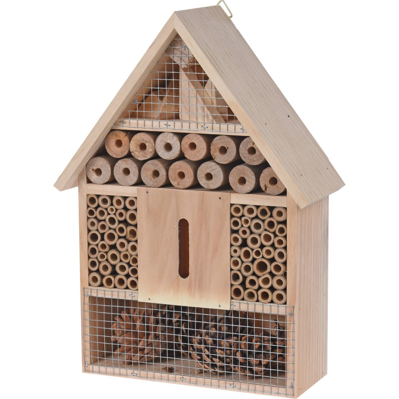 Pro Garden Insectenhotel 22 X 9 X 30 Cm Hout Naturel online kopen
