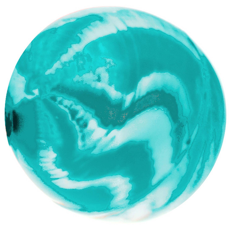 Korting Lg imports Stuiterbal Fire Junior 4,5 Cm Turquoise