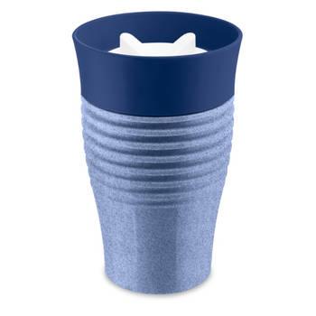 Korting Herbruikbare Koffiebeker, 0.4 L, Organic Blauw Koziol Safe To Go