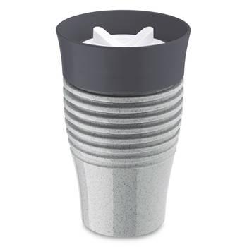 Korting Herbruikbare Koffiebeker, 0.4 L, Organic Grijs Koziol Safe To Go