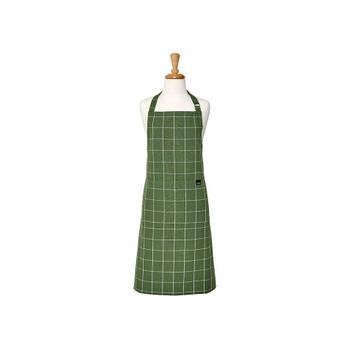 Korting Keukenschort Groen, 70 X 89 Cm Ladelle Eco Check