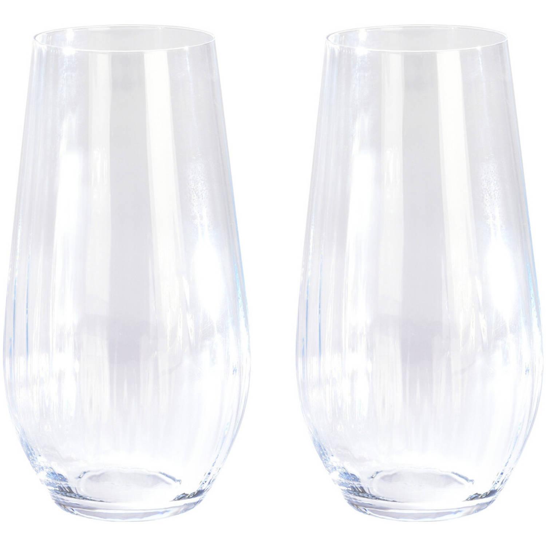 Korting 2x Longdrink Sapglazen waterglazen 58 Cl 580 Ml Van Kristalglas Kristalglazen Longdrinkglazen Drinkglazen