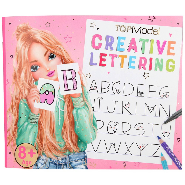 Korting Topmodel Creative Lettering Kleurboek