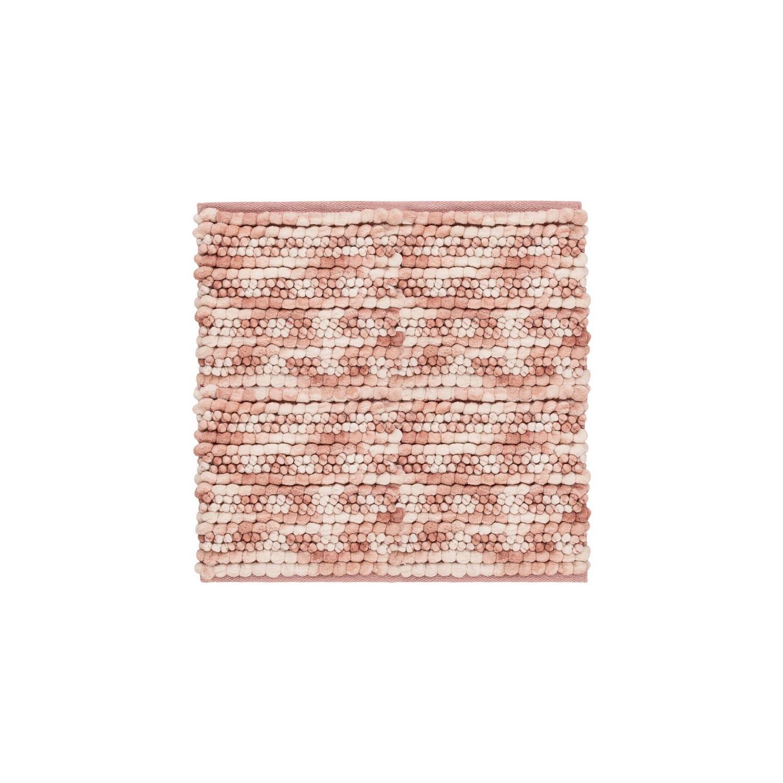 Korting Heckett Lane Bidetmat Brenda 60x60cm Shady Pink