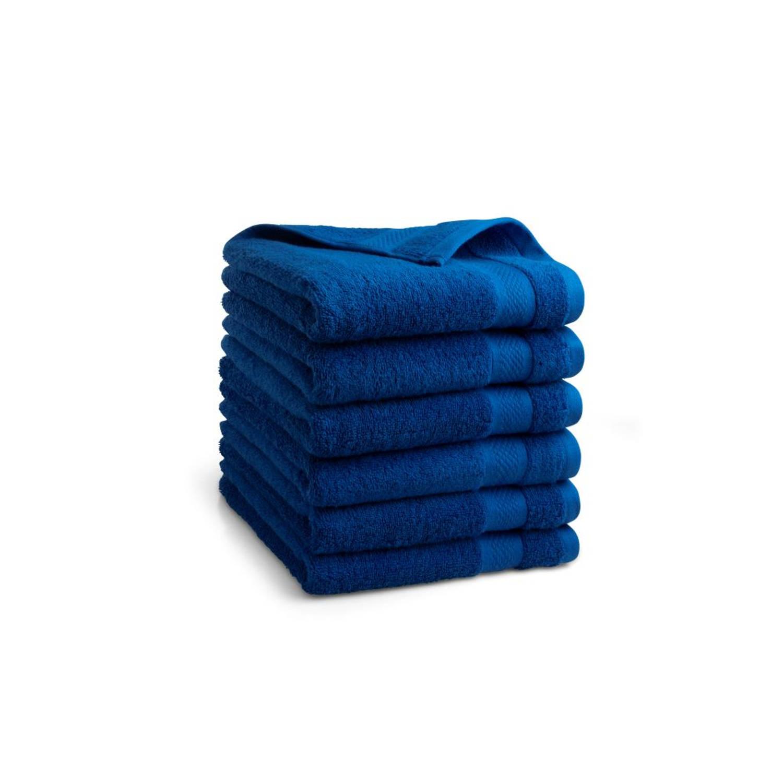Korting Seashell Clásico Handdoekset Blauw 9 Stuks 50x100cm