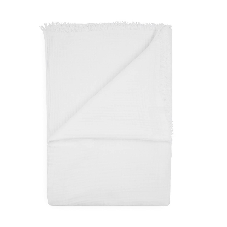 Korting Yellow Wafel Rosalle Bedsprei Plaid White 270x260cm
