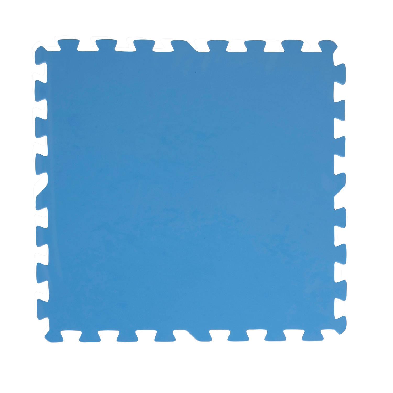 Korting Creative Kids Zwembadtegels Foam 50x50 8 Stuks 2m2 Blauw