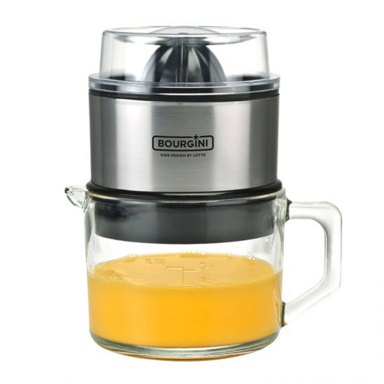 Korting Bourgini Lotte Juicer Deluxe 0.75l