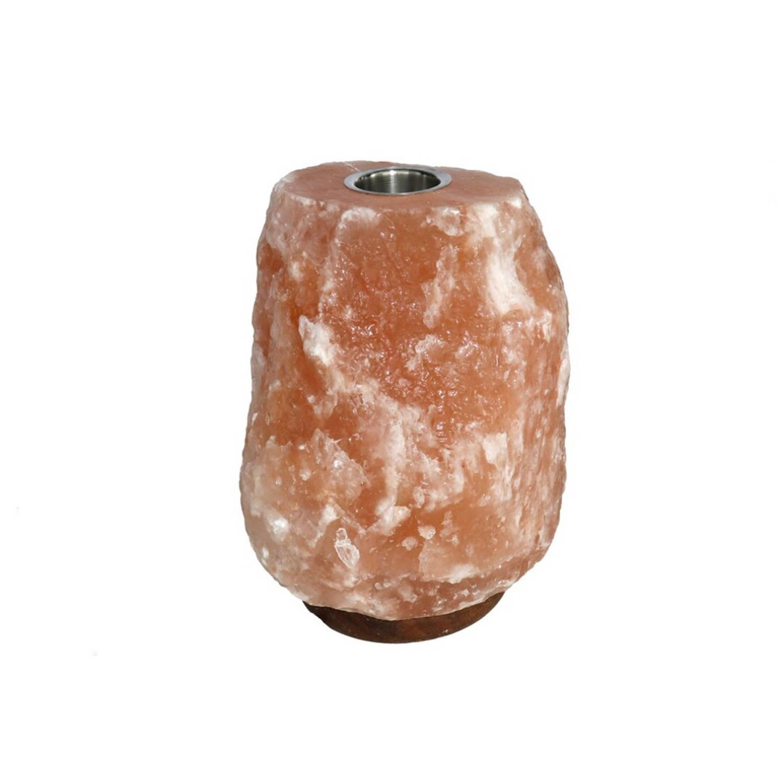 Korting Gebor Positieve Himalaya Zoutlamp Natural 3 5kg 20x15x8cm Ontspannings Lamp Ontspanning Rust