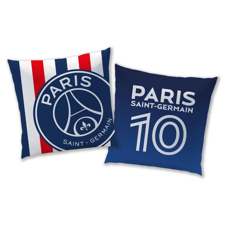 Korting Paris Saint Germain Kussen 40 X 40 Cm Blauw