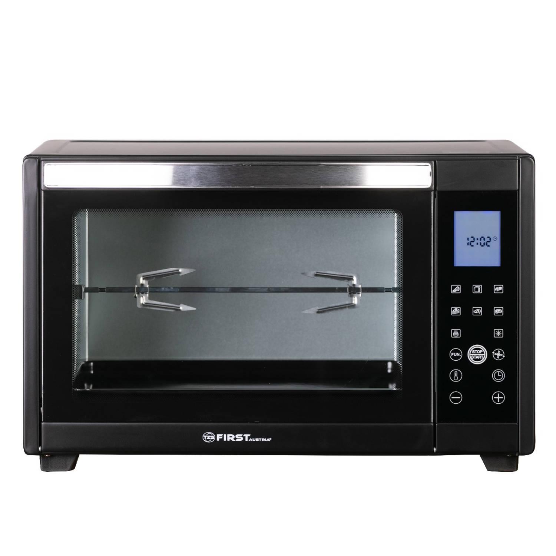 Korting Tzs First Austria Fa 5046 2 Digitale Elektrische Oven 2000w 45liter Zwart