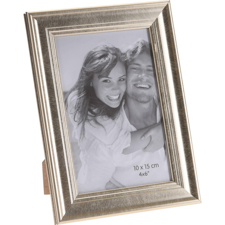 Korting Gouden Glanzende Fotolijsten fotoframes 14 X 19 Cm Fotolijstjes Voor Een 10 X 15 Cm Foto