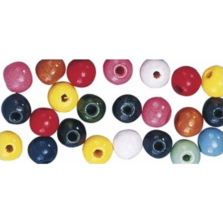 Korting Gekleurde Hobby Kralen Van Hout 12mm 128x Stuks Diy Sieraden Maken Kralen Rijgen Hobby Materiaal