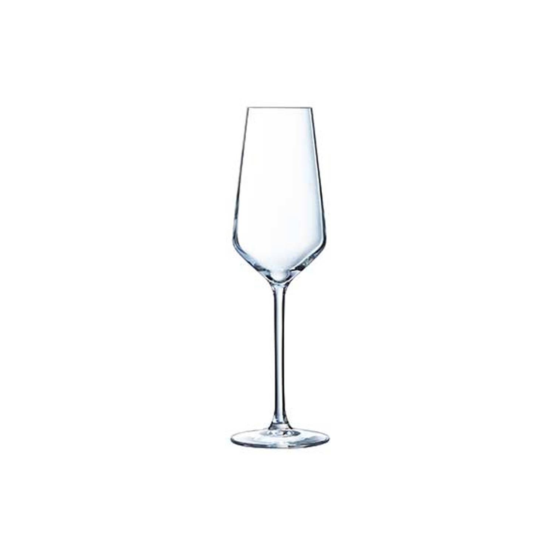 Korting Cristal D'arques Champagne Glas 21 Cl Set Van 6