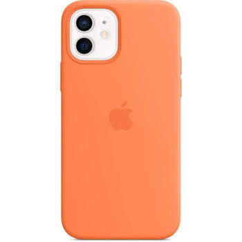 Korting Apple Iphone 12 12 Pro Siliconen Hoesje Met Magsafe Kumquat
