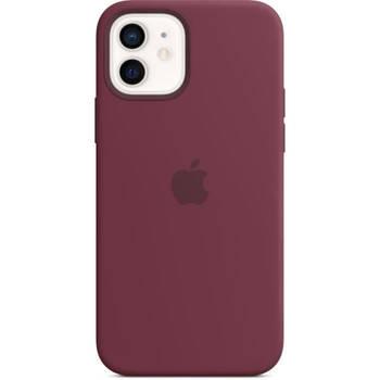 Korting Apple Iphone 12 12 Pro Siliconen Hoesje Met Magsafe Pruim