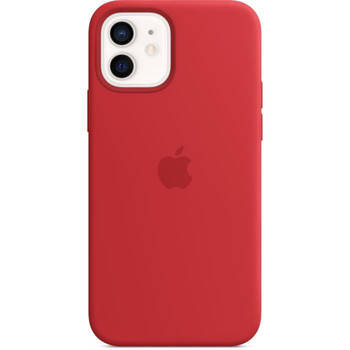 Korting Apple Iphone 12 12 Pro Siliconen Hoesje Met Magsafe (Product) Rood