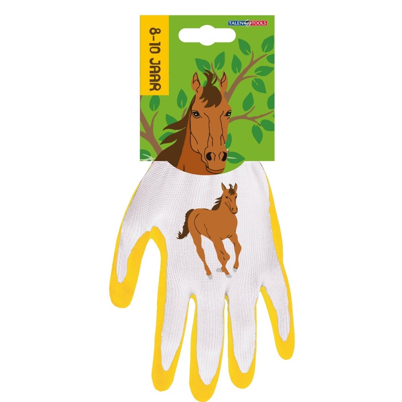 Korting Talen Tools Werkhandschoenen Kinderen 8 10 Jaar Paard