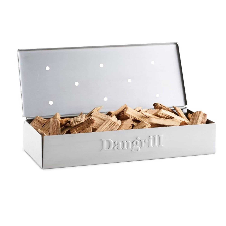 Orange85 Smoker Rookbox Voor Bbq Rvs 24 Cm Smokerbox Rookdoos