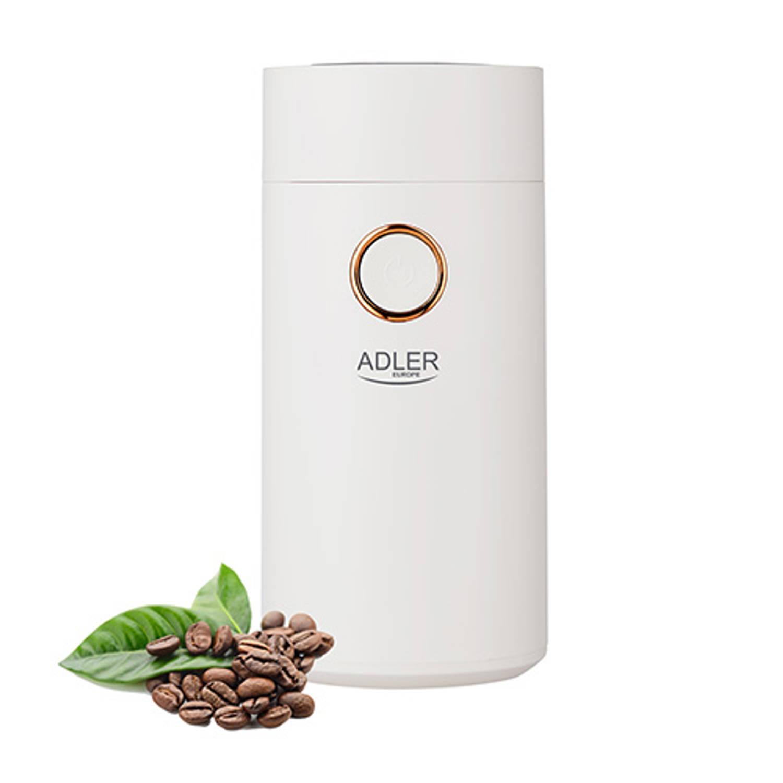 Korting Adler Ad 4446 Wg Koffiemolen Wit Goud