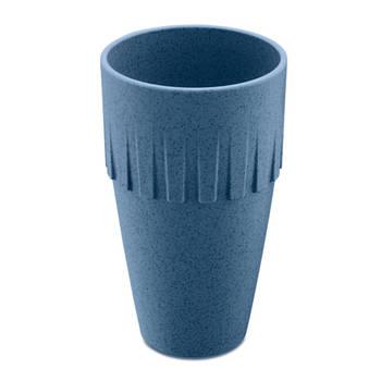 Korting Lattebeker, 0.4 L, Organic Diep Blauw Koziol Connect Coffee