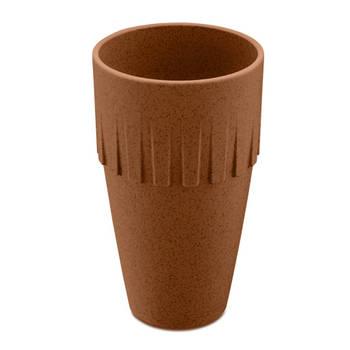 Korting Lattebeker, 0.4 L, Organic Roest Bruin Koziol Connect Coffee