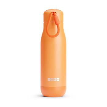 Korting Thermosfles Rvs, 500 Ml, Oranje Zoku Hydration