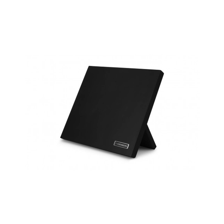 Korting Edënbërg Black Line Magnetisch Messenblok 24 X 21 Cm Zwart