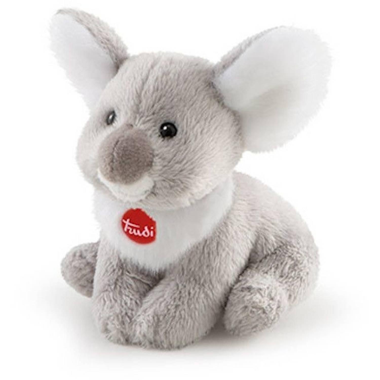 Korting Trudi Knuffel Koala Junior 9 Cm Pluche Grijs