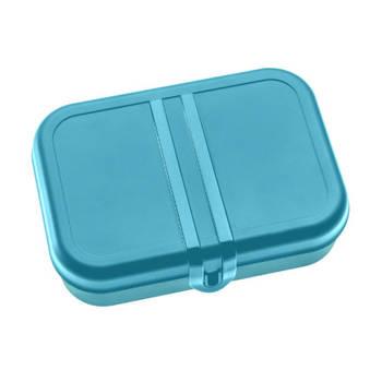 Korting Lunchbox Met Verdeler, Oceaan Blauw Koziol Pascal L