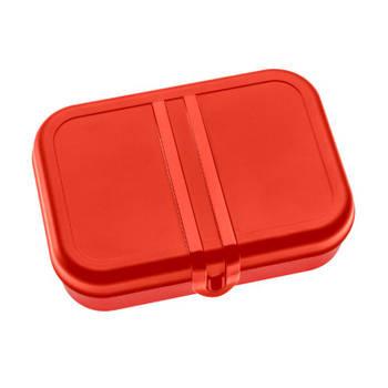 Korting Lunchbox Met Verdeler, Stijl Rood Koziol Pascal L