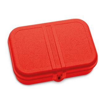 Korting Lunchbox Met Verdeler, Organic Rood Koziol Pascal L