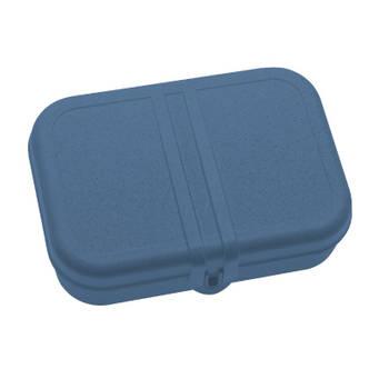 Korting Lunchbox Met Verdeler, Organic Diep Blauw Koziol Pascal L
