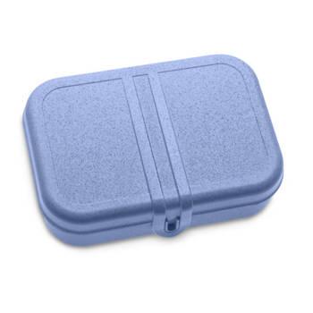 Korting Lunchbox Met Verdeler, Organic Blauw Koziol Pascal L