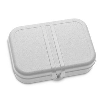 Korting Lunchbox Met Verdeler, Organic Grijs Koziol Pascal L