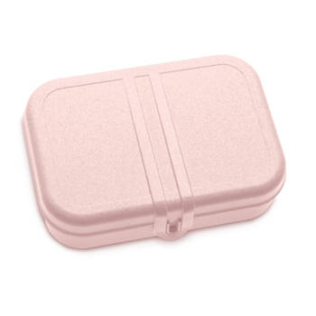Korting Lunchbox Met Verdeler, Organic Roze Koziol Pascal L