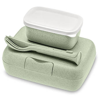 Korting Lunchbox En Bestekset, Organic Groen Koziol Candy Ready