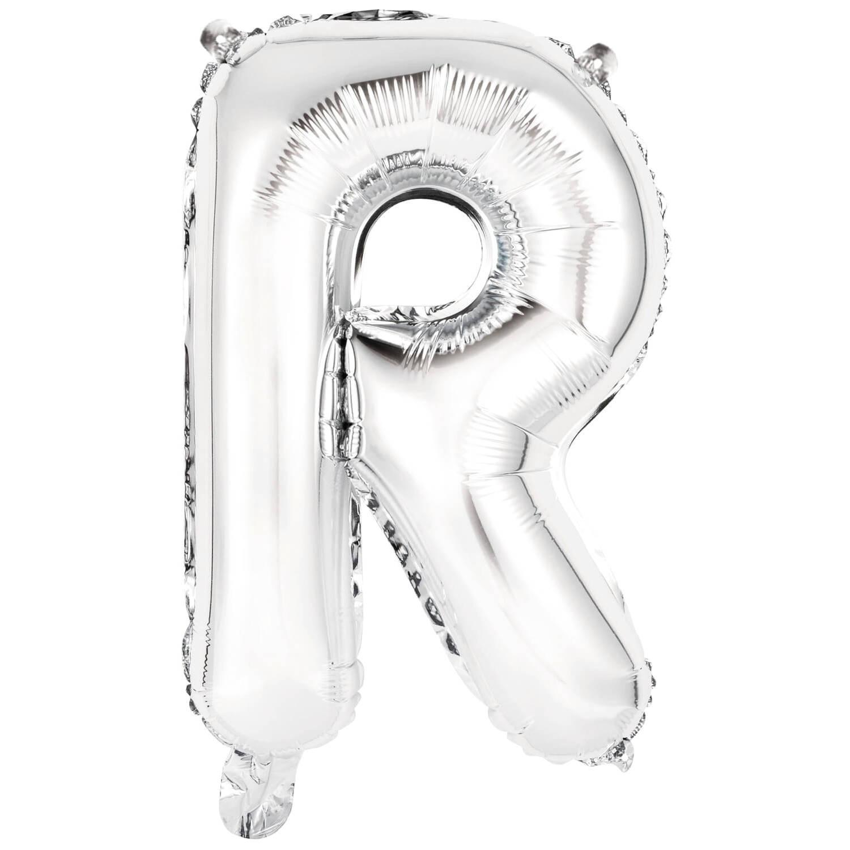 Korting Amscan Letterballon R Folie 34 Cm Zilver