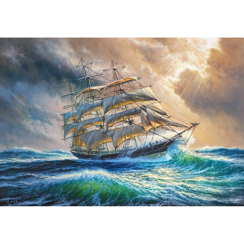 Korting Castorland Legpuzzel Sailing Against All Odds 1000 Stukjes